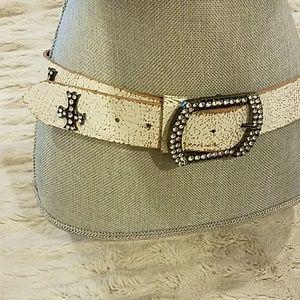 Cross Studded belt
